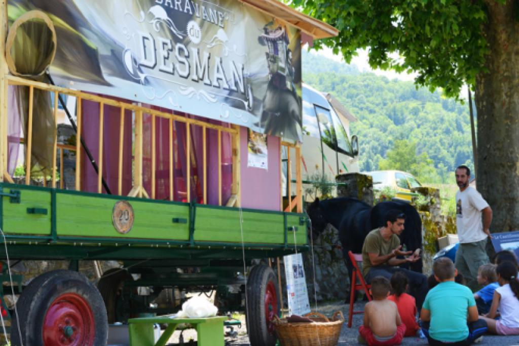 Caravane du Desman (© F. Gaulard)